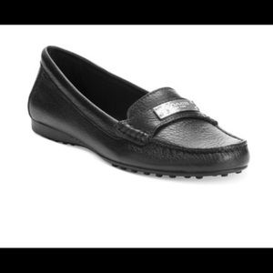 Coach Frederick black loafers size 7